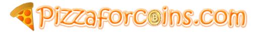 Pizzaforcoins Logo