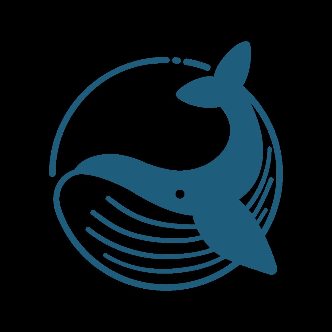 Blue Whale Token Logo