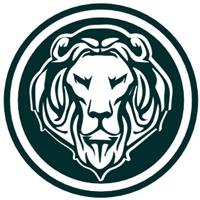 Lion Logo Negocie Coins