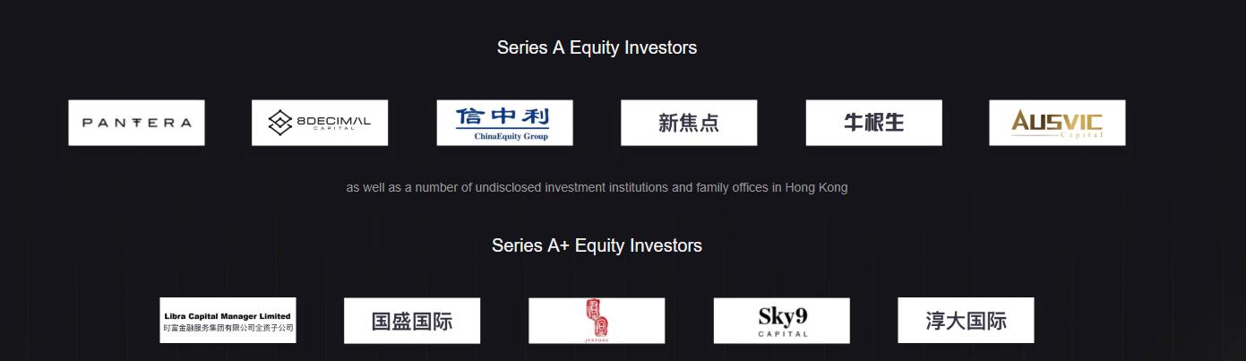 Coinsuper Investors Logotypes