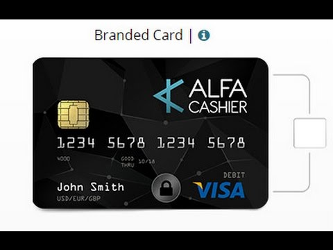 AlfaCashier Card Picture of Card