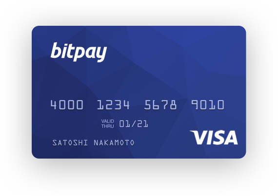 Bitpay Card Picture of Card