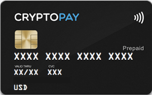 Cryptopay Picture of Card