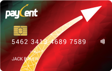 Paycent Card Picture of Card