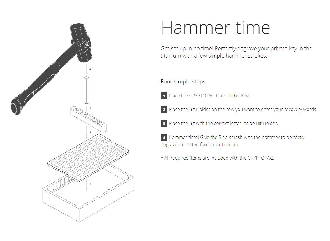 Cryptotag Hammer