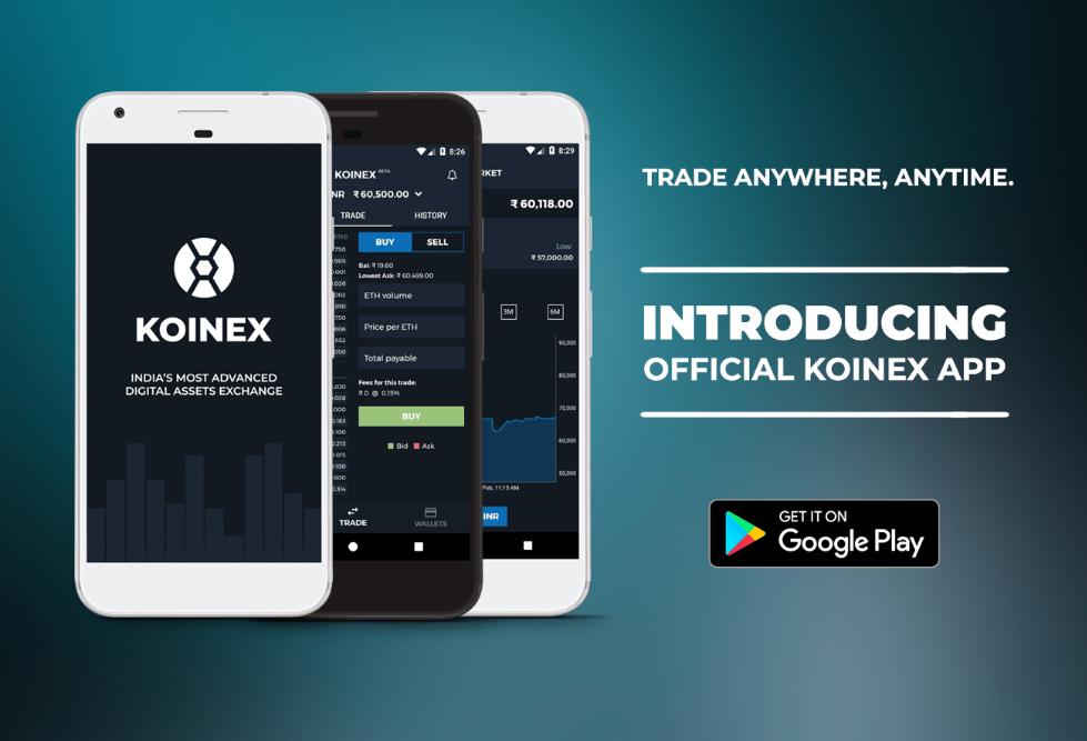 Koinex Mobile App