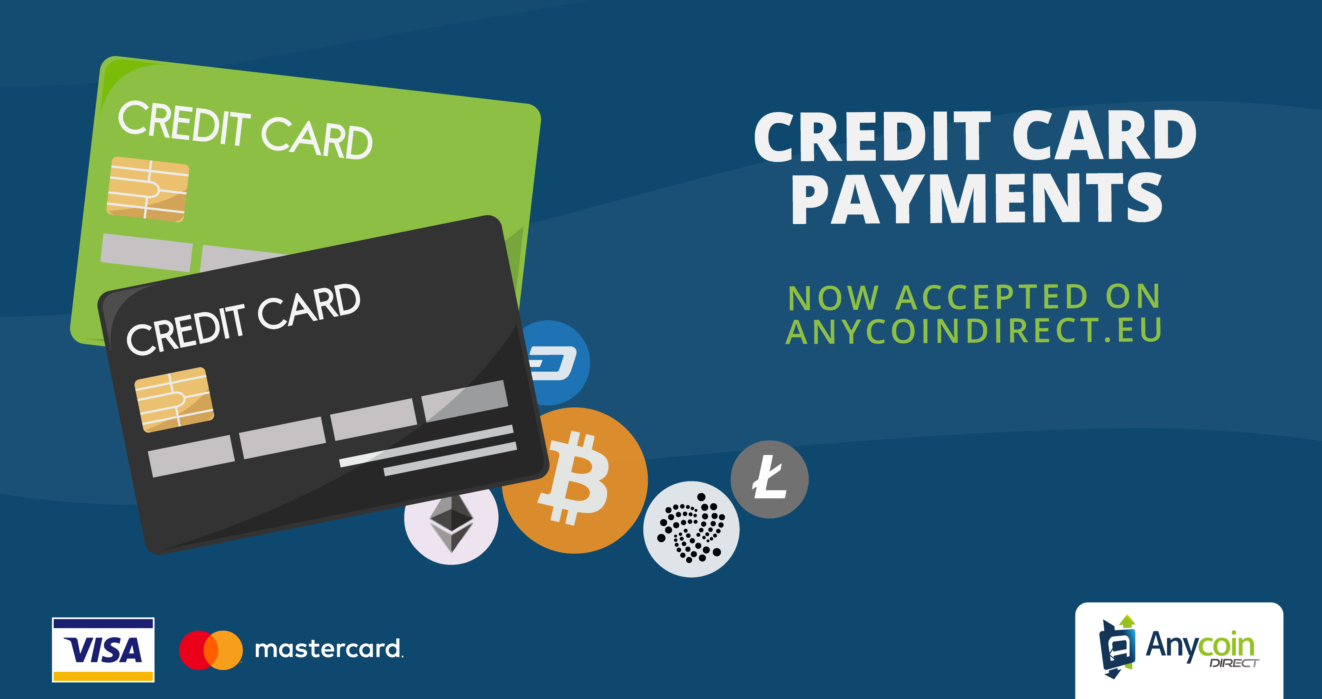 Anycoin Direct Credit Card Deposits