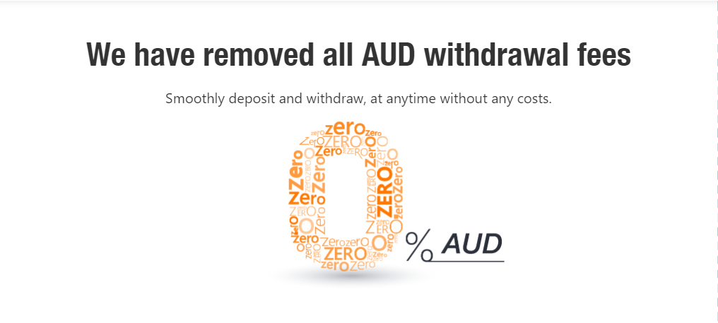 ACX No Withdrawal Fees