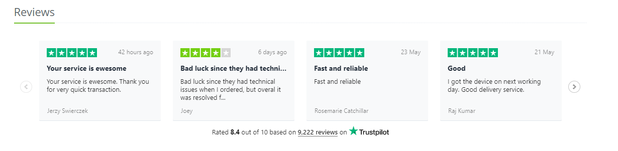 Anycoin Direct Trustpilot Reviews