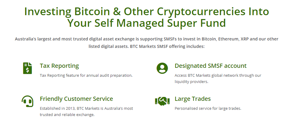 BTC Markets Self Managed Super Fund