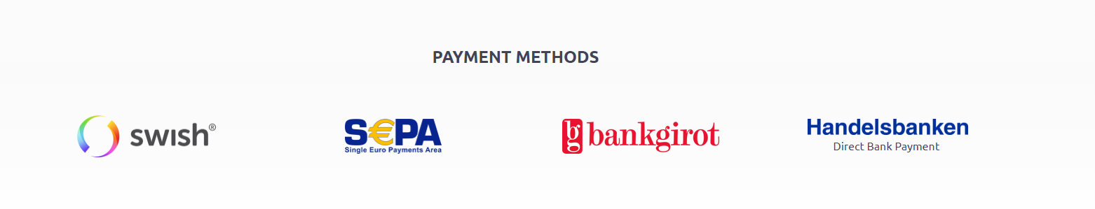 BTCX Payment Methods