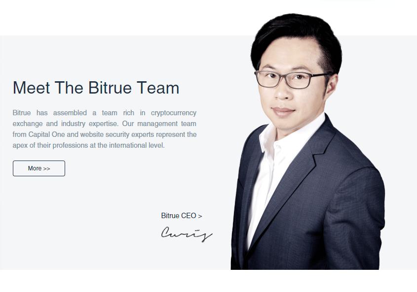 Bitrue CEO Curis Wang