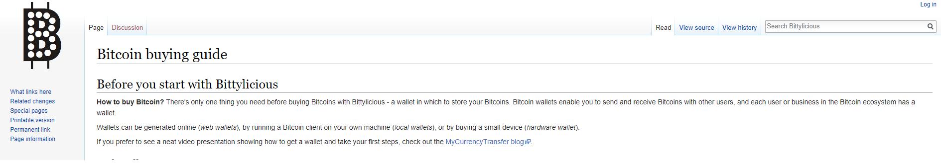 Bittylicious Wiki Tutorial
