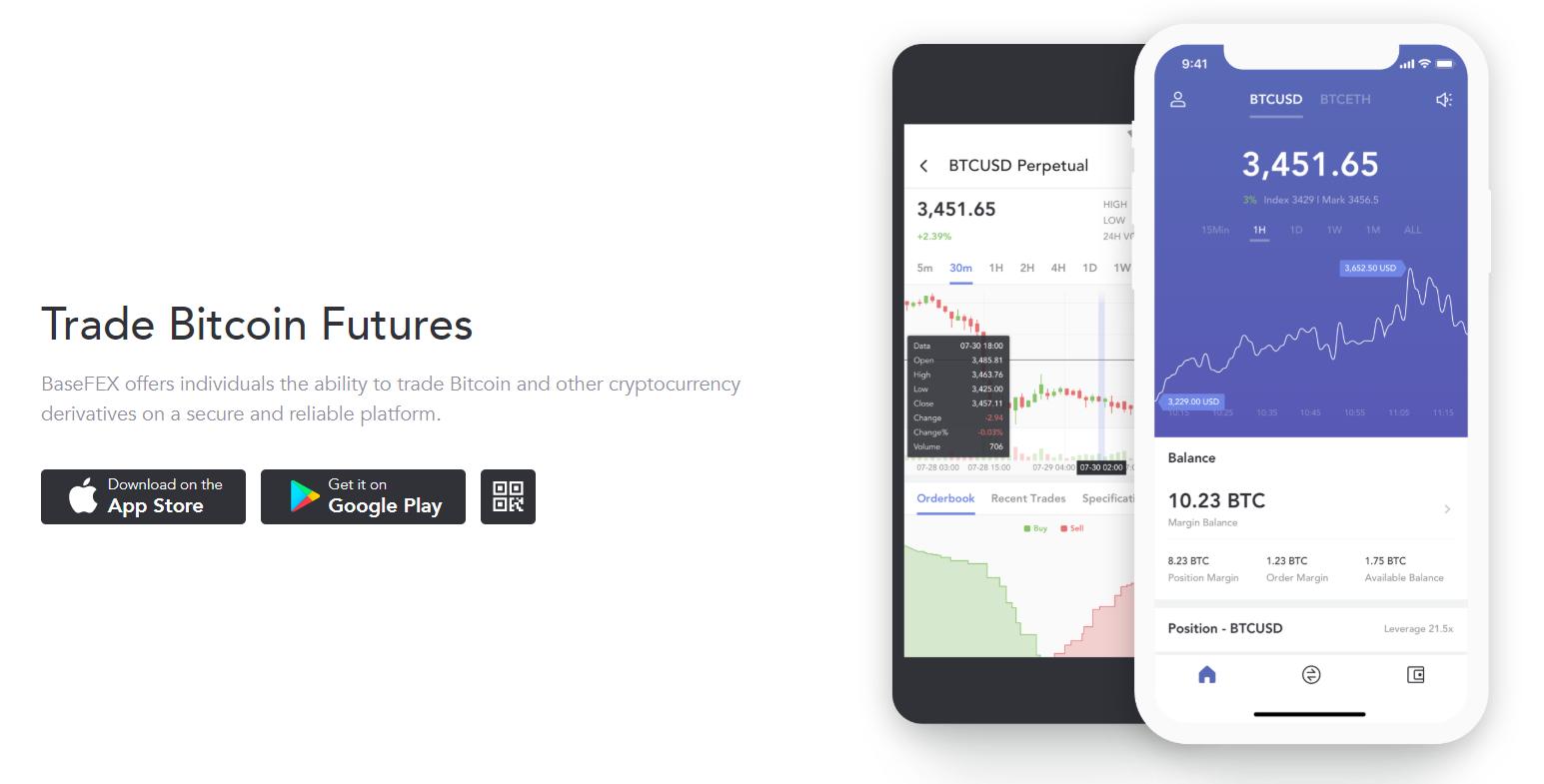 BaseFEX Mobile App