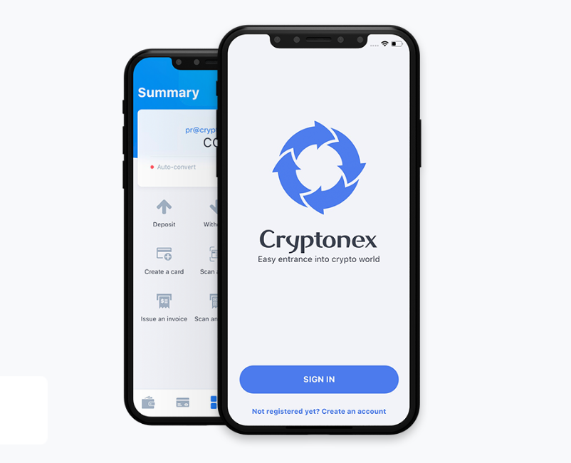 Cryptonex Mobile Support