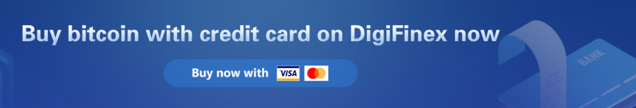 DigiFinex Credit Card Deposits