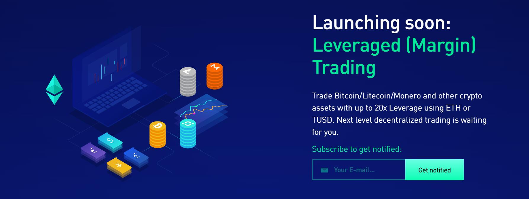 EtherMium Leveraged Trading