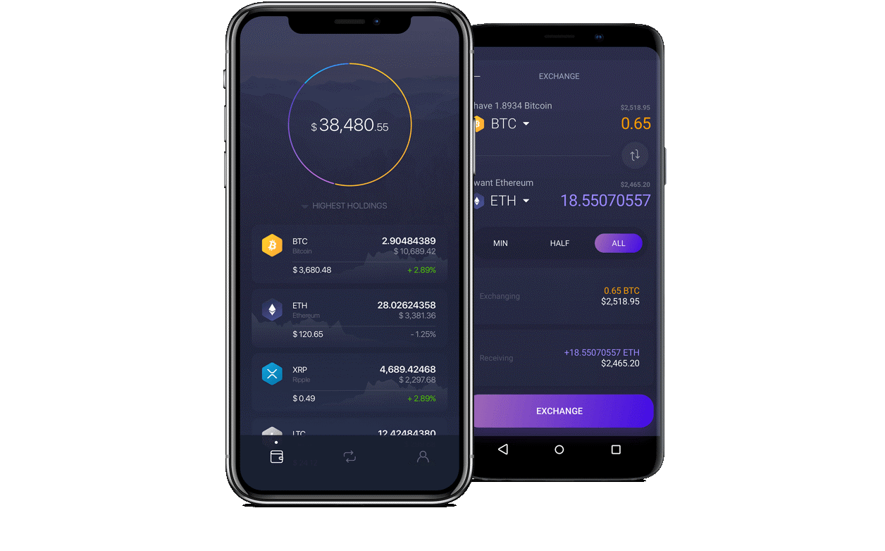 Exodus Mobile Interface