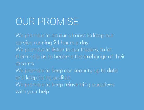 GuldenTrader Promises