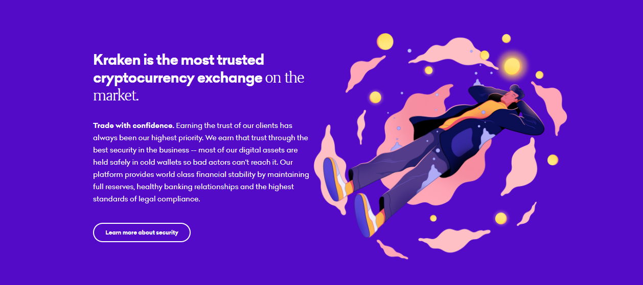 Kraken Most Trusted Cryptocurrency Exchange