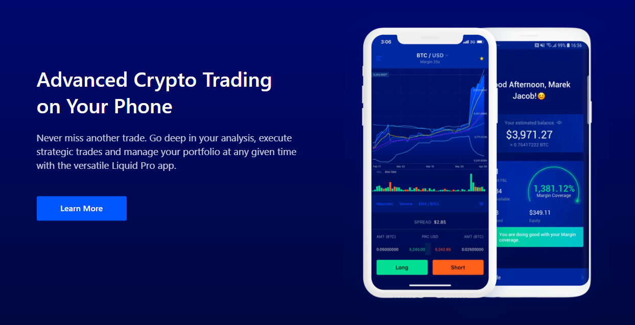 most liquid cryptocurrency exchange