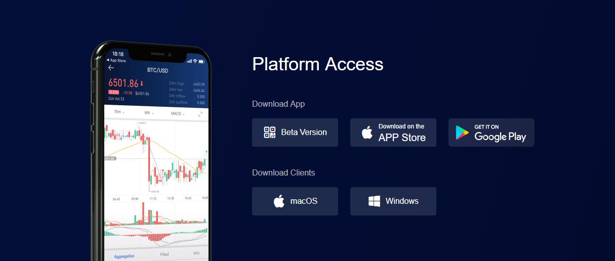 OKCoin Mobile Support Etc.