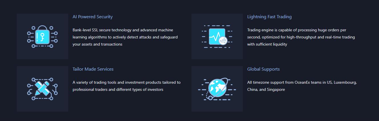 OceanEx Advantages
