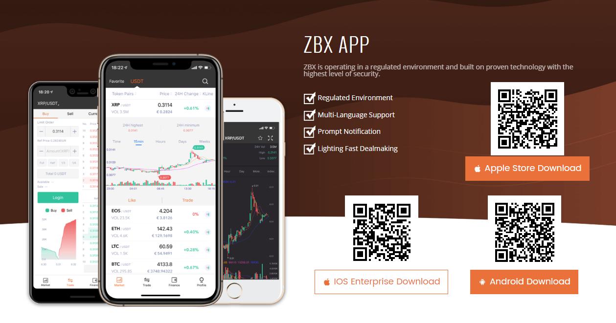 ZBX Mobile App