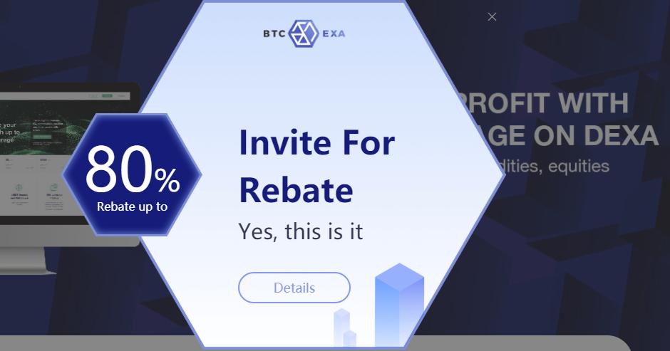 BTCEXA Referral Offer