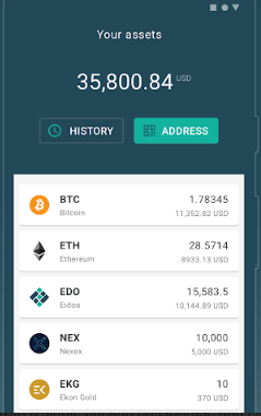 Eidoo Supported Coins