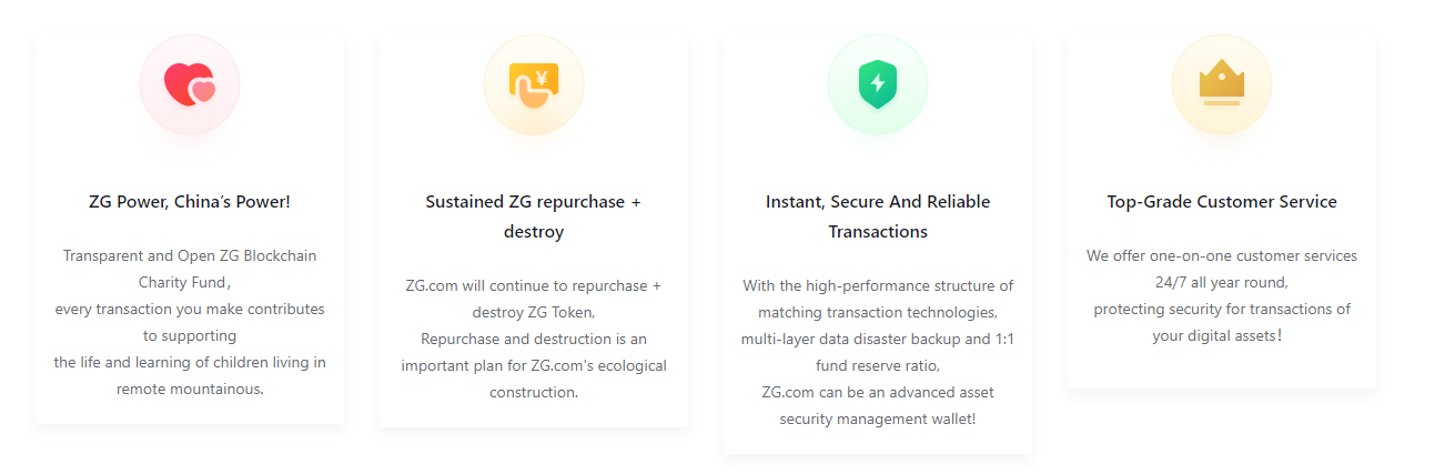 ZG.com Advantages