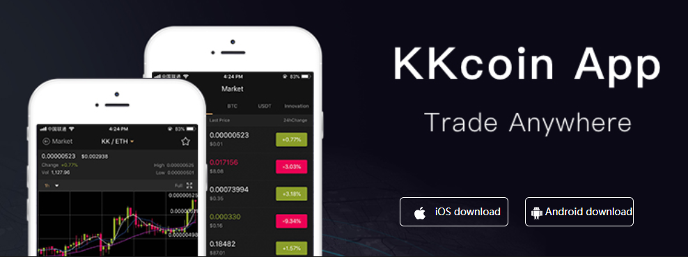KKCoin Mobile Support