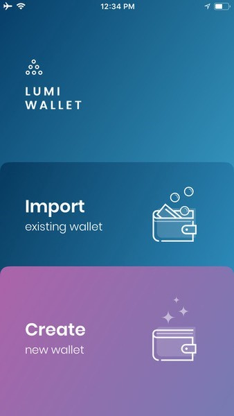 Lumi Wallet Ease of Use