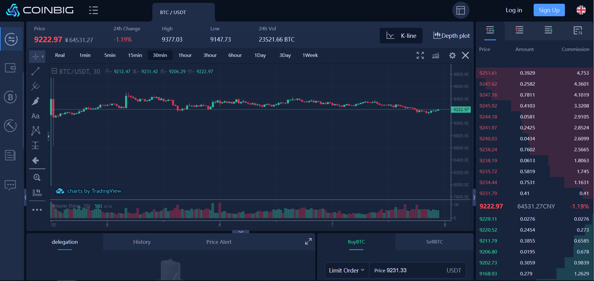 COINBIG Trading View