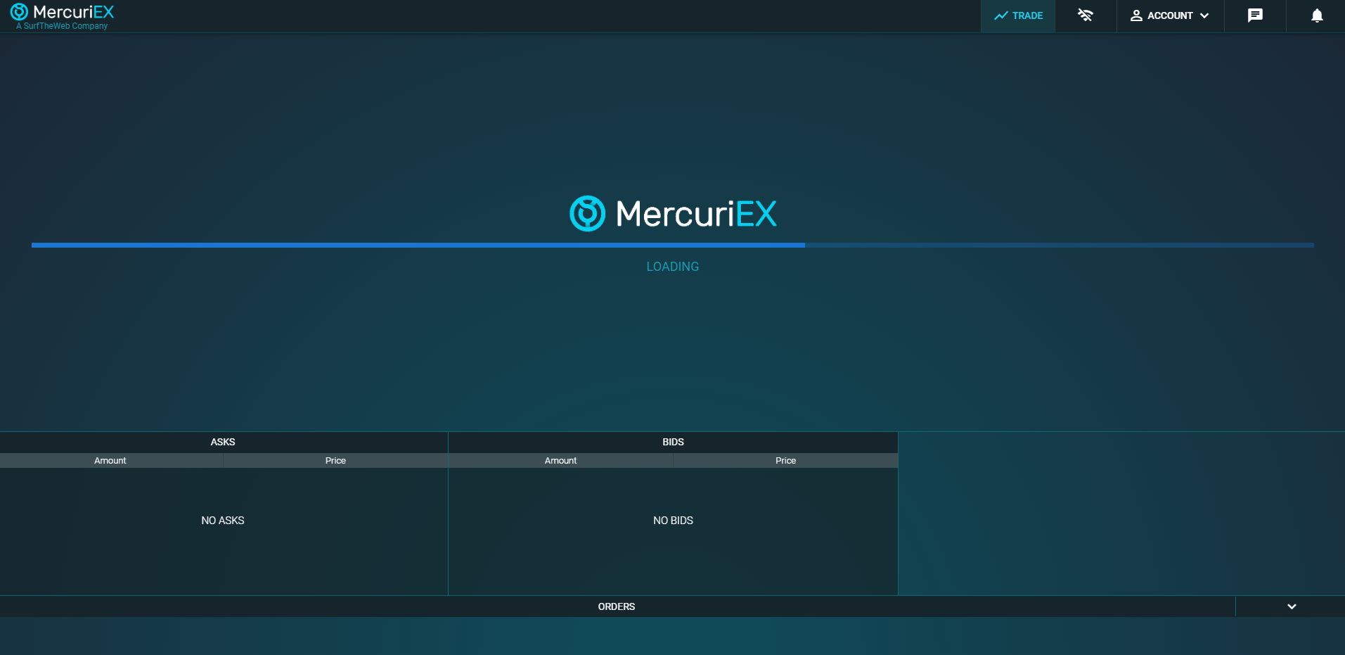 MercuriEx Trading View