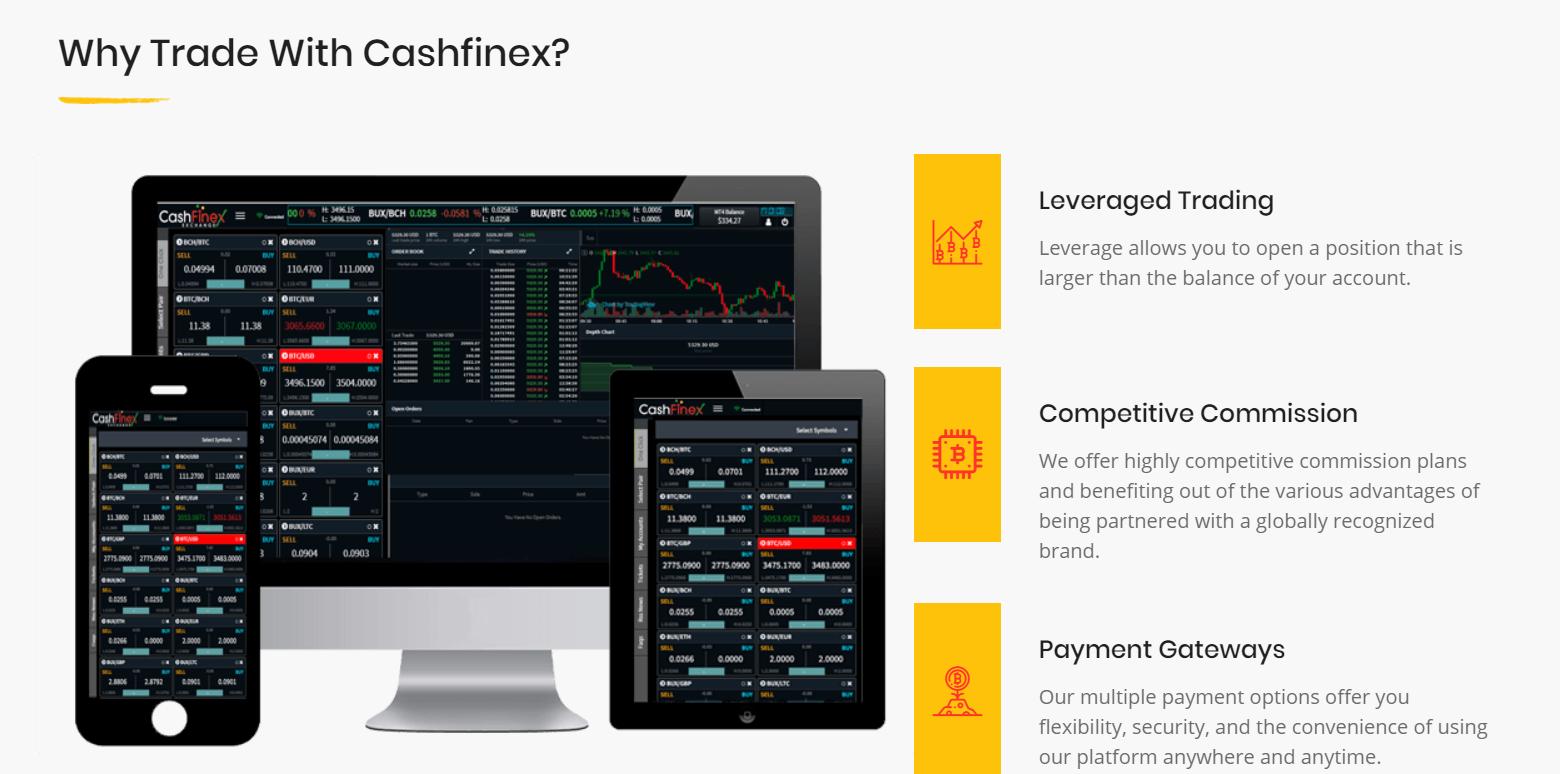 CashFinex Advantages