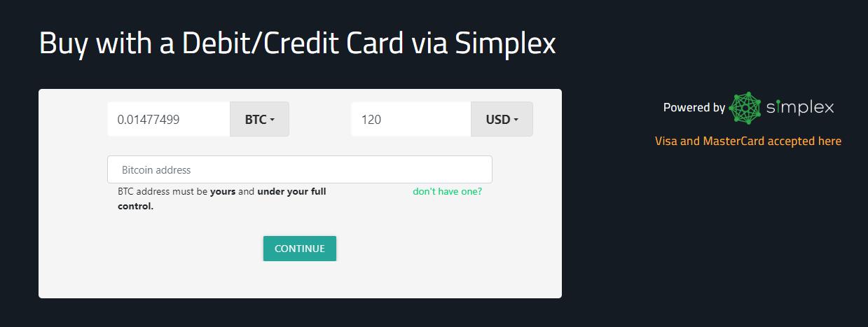 CoinFlip Deposit Methods